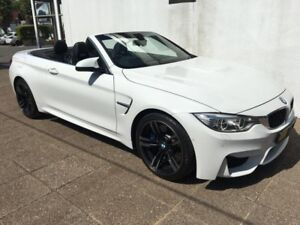 2015 Bmw m4 Coupe convertible white