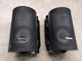 Ariston MSX-04 micro monitor speakers with brackets