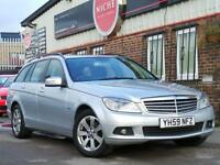 2009 Mercedes Benz C Class 1.6 C180 BlueEFFICIENCY Kompressor SE 5dr 5 door E...
