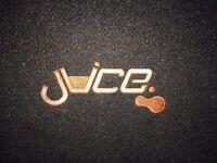 Juice A12 Car Subwoofer (Active Sub)