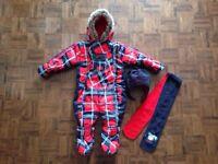 Habit d'hiver une pièce Gusti 18 mois pour garçon