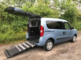 2015 Fiat Doblo 1.6 Multijet 90 MyLife 5dr AUTOMATIC WHEELCHAIR ACCESSIBLE VE...