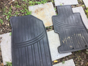 Winter Floor Mats for Honda Civic - Black