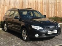 2007 '07' Subaru Outback 2.5 S, 5 Door Estate, MPV, 4WD, Petrol, Manual, Hi/Lo.