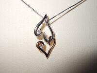 Ben Moss Gold Heart Pendant