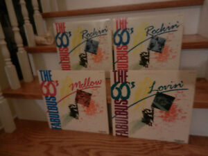 Vinyl Records/LP's The Fabulous 60's Collection Sealed Lot of 4
