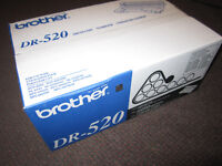 Brother DR-520 Drum Cartridge - NEW, in sealed box