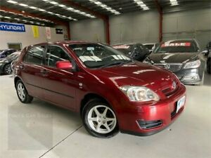 2005 Toyota Corolla ZZE122R 5Y Ascent Maroon 5 Speed Manual Hatchback Laverton North Wyndham Area Preview