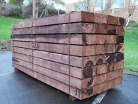 Railway sleepers new and old from £15