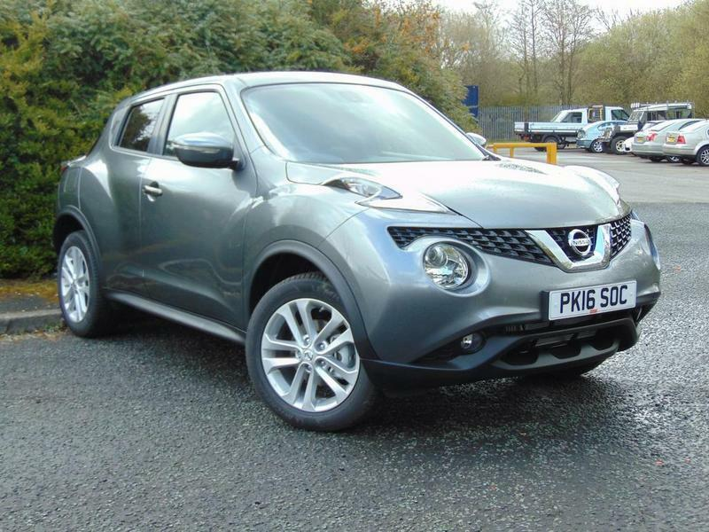 nissan juke 1 5 dci n connecta 5 door grey 2016 in. Black Bedroom Furniture Sets. Home Design Ideas