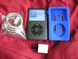 Silver classic ipod 120g 6th generation