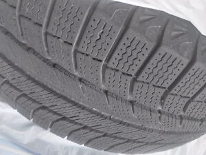 BMW X5 Michellin winter tires with rims