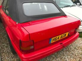 image for 1990 Ford Escort 1.6i 2dr CONVERTIBLE Petrol Manual