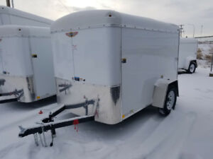 New H&H 5x8 enclosed cargo / utility  trailer