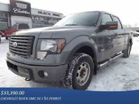 2012 FORD F-150 4WD SUPER CREW 157'' WB FX4, ECOBOOST, CUIR, PNE