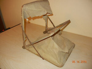 Antique Wicker Baby Carriage...price reduced London Ontario image 3