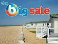 Caravans for sale from £19,995 by the sea, Limited site fees from £2950