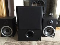 Studio monitors/Speakers + sub