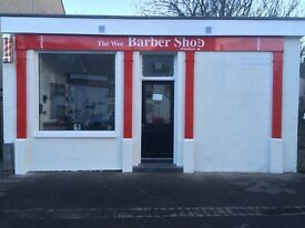 Experienced barber required part time (Milnathort/Dunfermline)