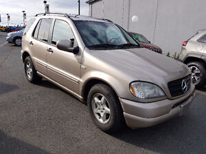 2001 Mercedes ML320 - Trade for a motorcycle