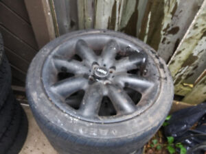2004 mini cooper tires and rims