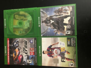 Xbox one games used a little