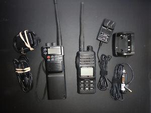Standard Horizon handheld marine VHF's (2)