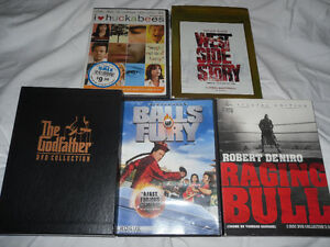 Godfather 1-3 + Raging Bull + West Side Story + more
