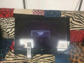 77. 32inch Alba TV and remote