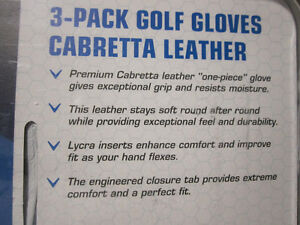Callaway Cabretta Leather Golf Gloves - 3-Packs, some Singles Kitchener / Waterloo Kitchener Area image 7