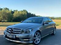 2014 Mercedes-Benz C Class C220 CDI AMG SPORT EDITION PREMIUM PLUS Auto Coupe Di
