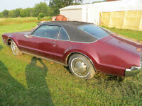 1967 Oldsmobile Toronado  Parts Vehicle
