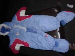 Blue and Red Snow suit 9 months