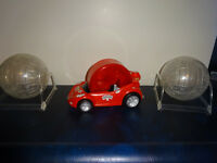 Hamster Sports Car OR a Ball on a stand