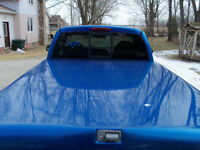 hard top tonneau cover- blue