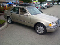 MUST SACRIFICE!! 1997 MERCEDES-BENZ C-CLASS SEDAN