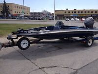 1996 Glassport Bass boat, sell or trade