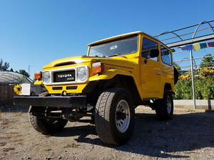 1977 Toyota Land Cruiser up SUV, Crossover