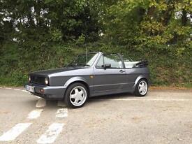 1989 MK1 VOLKSWAGEN GOLF GTI CONVERTIBLE VERY CLEAN LOTS OF MONEY SPENT.