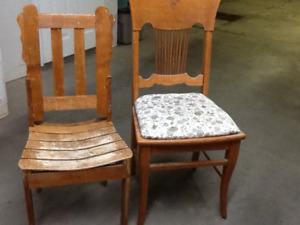 Antique : chaise