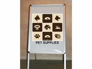 Sandwich Board A-Frame Snap Sign Holder - Brand New