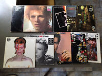 Lot de disques vinyles** DAVID BOWIE ** Record albums vinyls