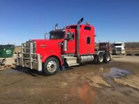 "2003 w900l 72"" double bunk custom exhaust cat powered 6nz"