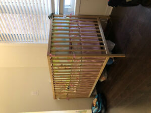 baby crib with mattress bumper and set of crib bedding