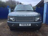 Range Rover Vogue 2002 Diesel 2.5ltr Automatic