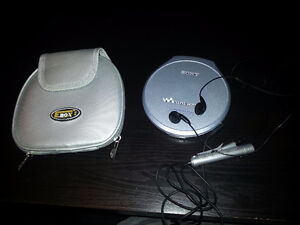 Sony Walkman CD Player (Batteries not included)