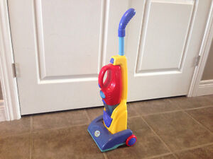 Vacuum and dust buster toy