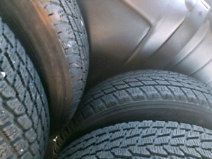 4 winter tires 175 65 15  Good for 2 more years.   4 tires