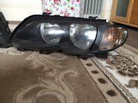 BMW 3 series model headlights fully working