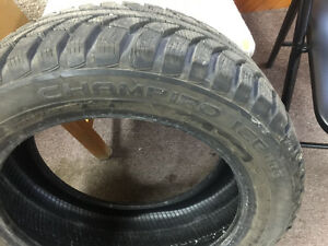 4 Almost new GT radial champiro winter tires *ice pro*